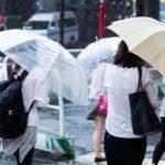 雨で衣服が濡れると生乾き臭が気になる・・・